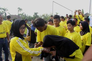 128 Atlet Dilepas Oleh Bupati Indramayu
