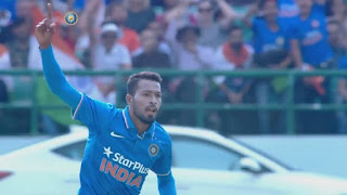 Hardik Pandya 3-31 and his debut ODI Man of the Match Highlights