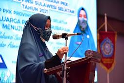 Naoemi Octarina Harap Rakerda PKK Sulawesi Selatan Seriusi Stunting dan Putus Sekolah