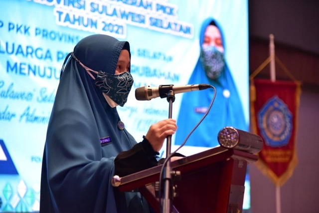 Naoemi Octarina Harap Rakerda PKK Sulawesi Selatan Seriusi Stunting dan Putus Sekolah.lelemuku.com.jpg