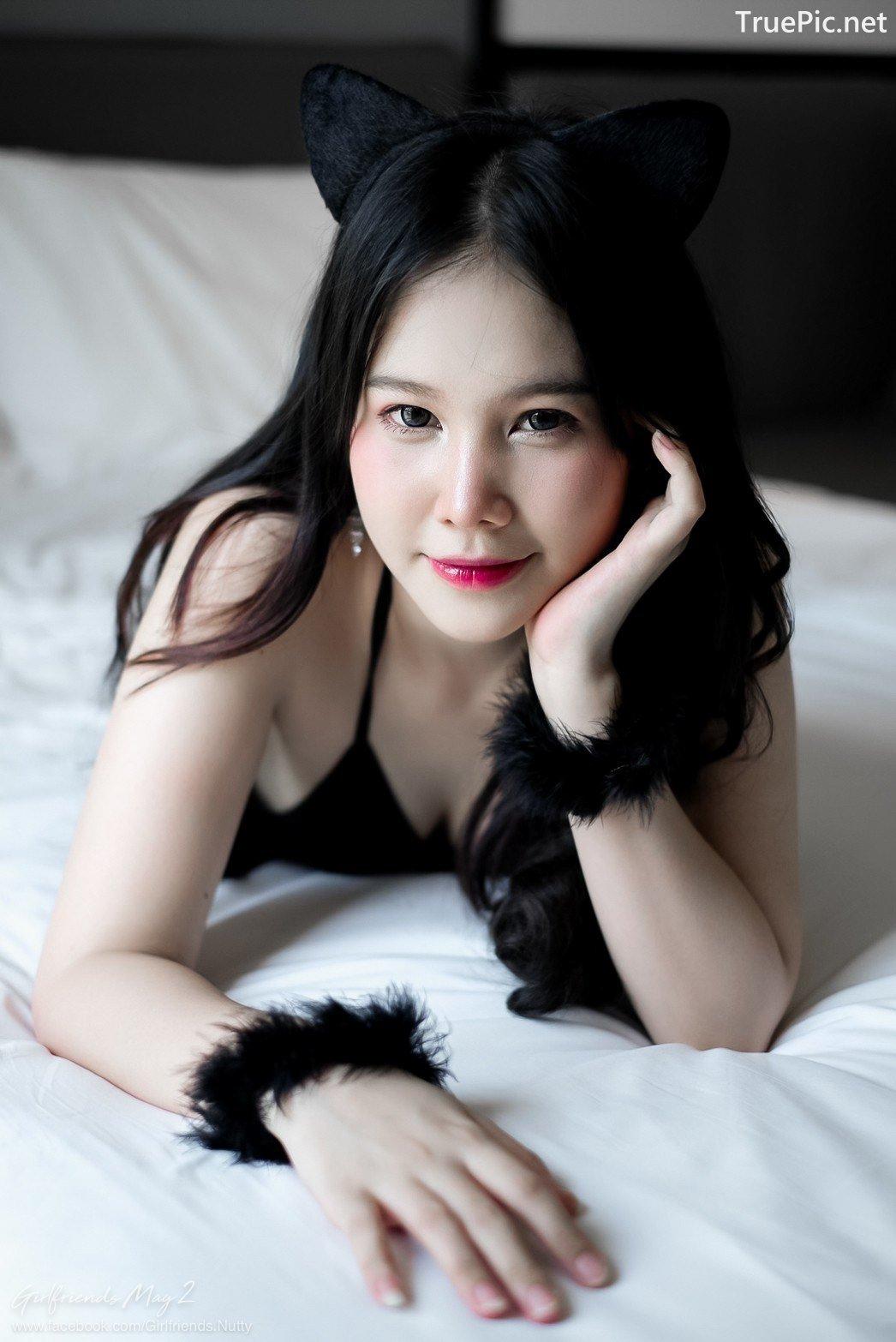 Image Thailand Model - Chanunshida Phuangsombut - Sexy Black Cat - TruePic.net - Picture-4