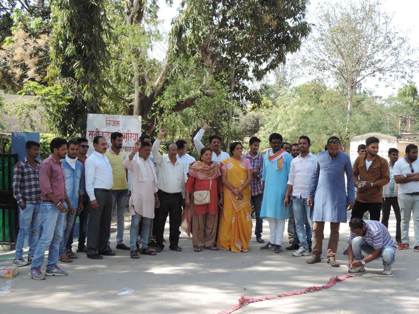 congress-mla-ajaysingh-rahul-अजयसिंह को नेता प्रतिपक्ष बनाए जाने पर जिला कांग्रेस ने दी बधाई