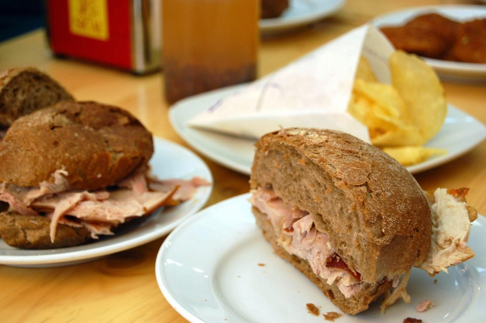 Stitch & Bear - Eat Drink Walk Petiscos Lisbon - Roast suckling pig rolls