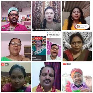 काशी में मनाया गया सावन में कजरी महोत्सव | #NayaSaveraNetwork