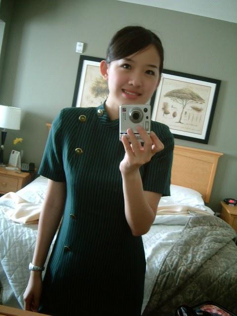 The Uniform Girls Pic Eva Air Stewdess Uniforms 3-9414