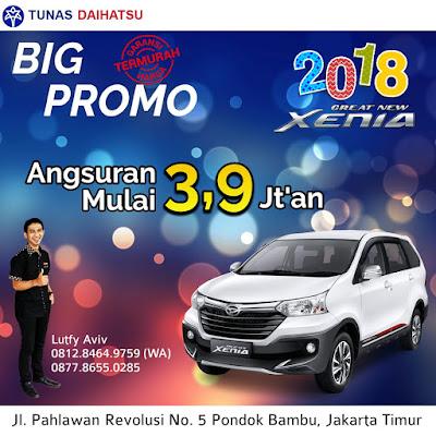 Promo Daihatsu Xenia 2018 Bekasi Jakarta