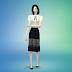 lace h-line midi skirt_레이스 미디 스커트_여성 의류