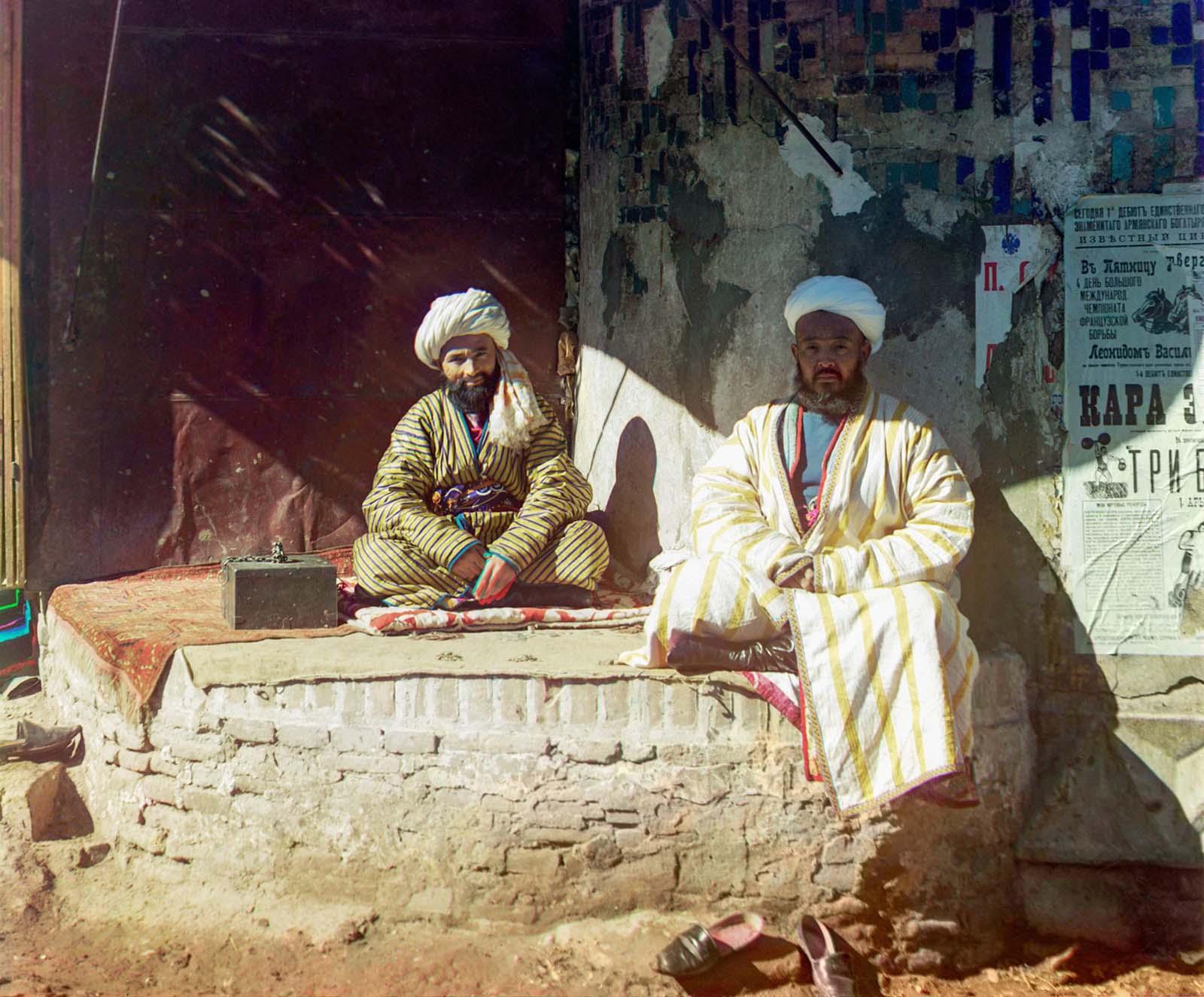 Prokudin-Gorsky Uzbekistan color photographs