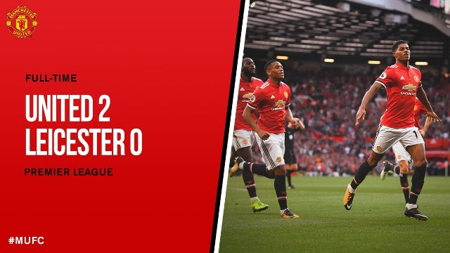 Manchester United vs Leicester City 2-0 Video Gol & Highlights