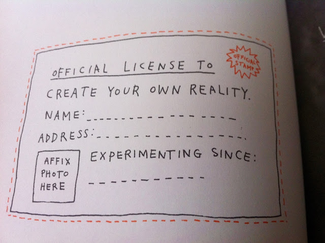 License to Create Your Own Reality - Keri Smith