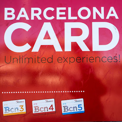 Barcelona Card by Laurence Norah