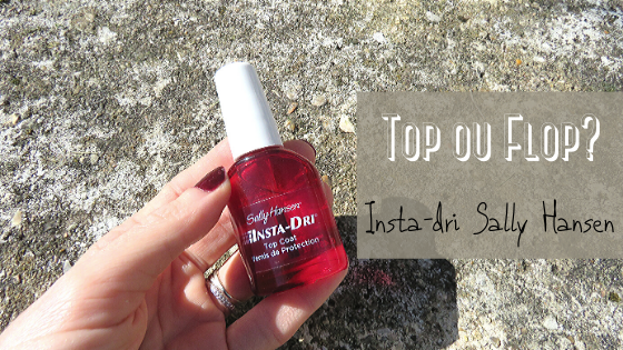 Insta-Dri - Top Coat Vernis de Protection - Sally Hansen