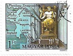 Selo Estátua de Zeus em Olímpia