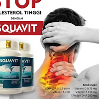**Top Seller.50 SQUAVIT [Isi 40 Paket 10 Botol] - Softgel Squalene Deep Ocean Fish Liver Oil - Minya