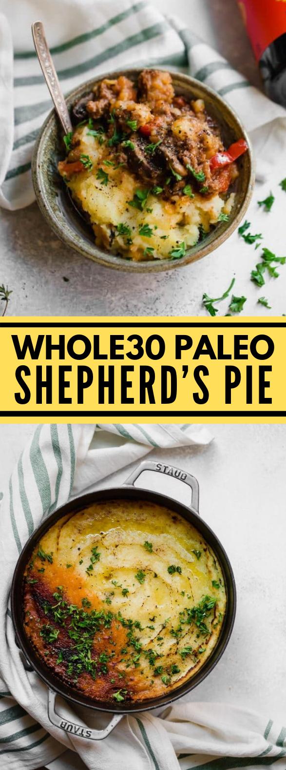 WHOLE30 PALEO SHEPHERD'S PIE #diet #comfortfood