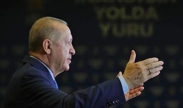 """أردوغان: سنثبت أن """"العدالة والتنمية"""" جزء من مستقبل تركيا"""