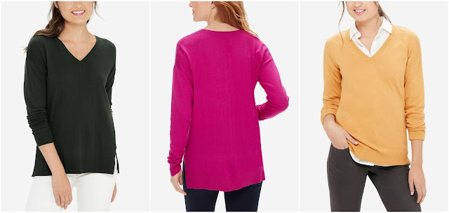The Limited V-Neck Pullover Sweater $20 (reg $50)