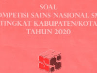 Download Soal KSN IPA SMP Tingkat Kabupaten Tahun 2020