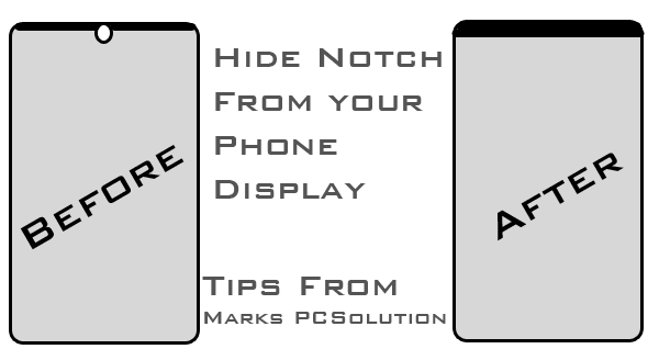 Hide Display Notch on your Samsung Phone