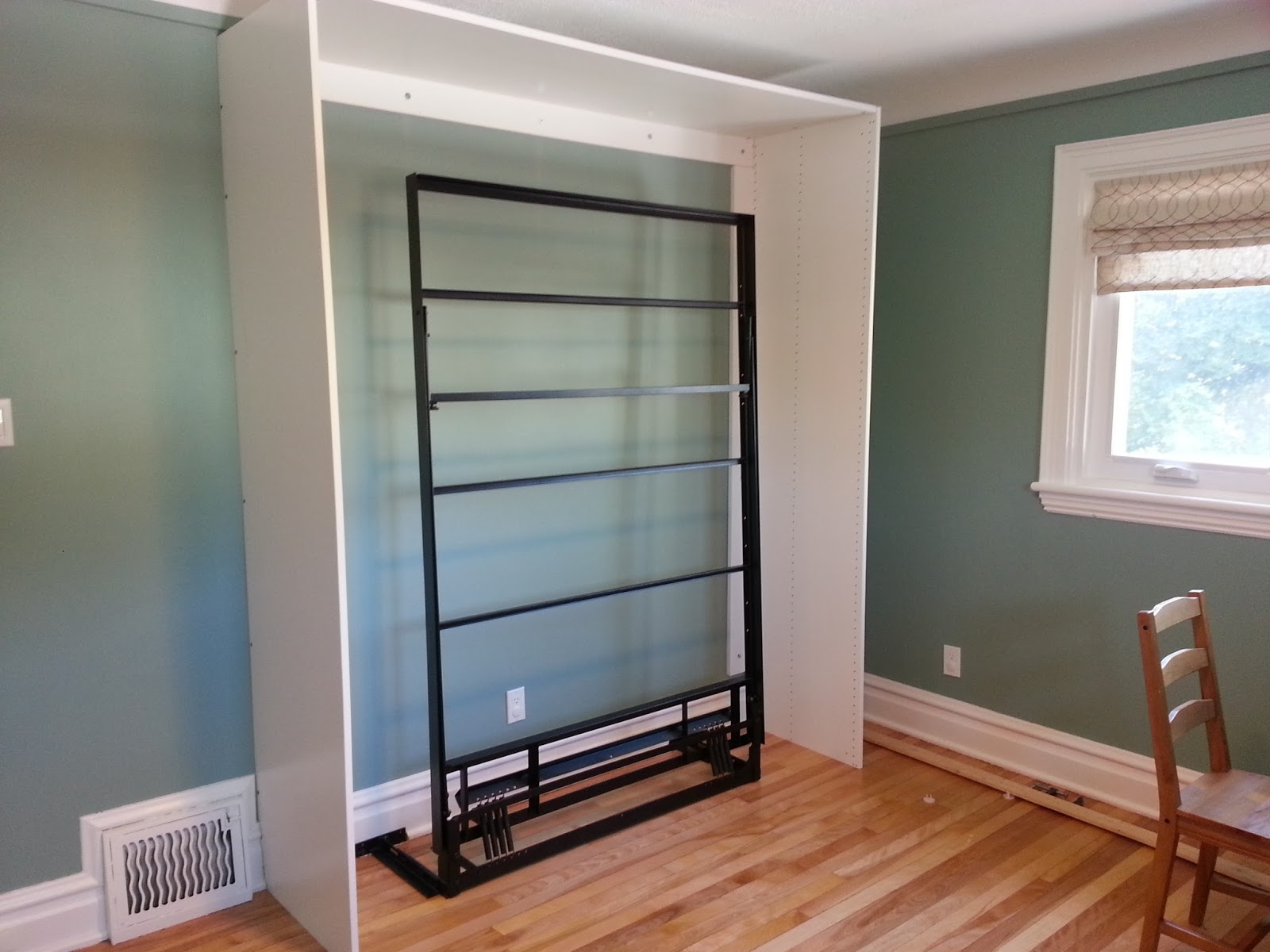 renovations and old houses diy ikea murphy bed 16490 | 20130818 171833