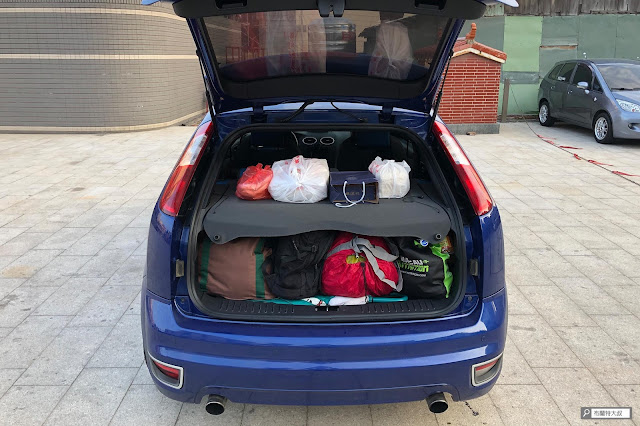 【大叔生活】2021 又是六天五夜的環島小筆記 (下卷) - 行李和伴手禮佔滿整個後車廂,在最完美的狀態返家