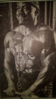 Sergio Oliva Arms Workout