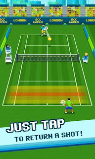 Download One Tap Tennis Mod Apk