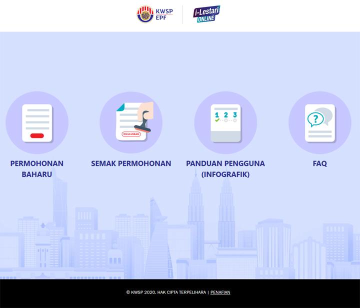 9 Langkah Mudah Untuk Buat Permohonan Pengeluaran i-Lestari KWSP Secara Online