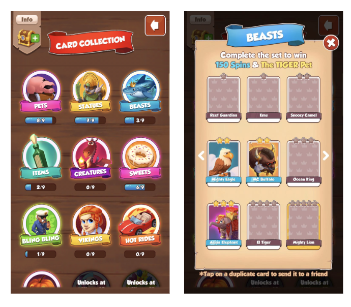 Coin master village list with pictures