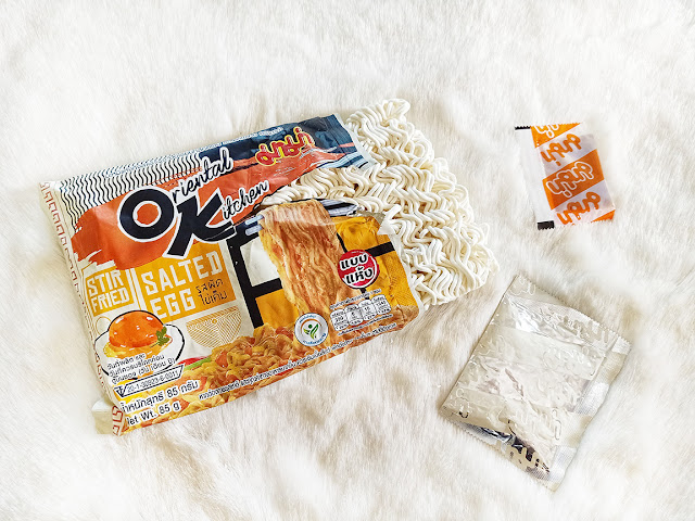 Mama Oriental Kitchen Salted Egg Noodles