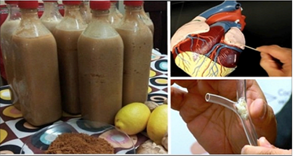 drink that cleans arteries from toxins