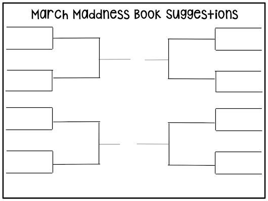 March Maddness Book Ideas
