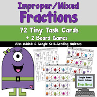 Improper Mixed Fractions