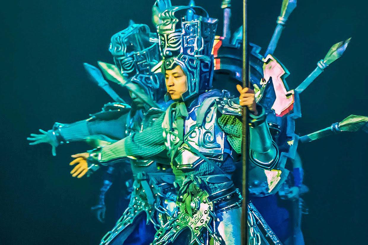 Exotic Beijing Performance The Golden Mask Dynasty Show