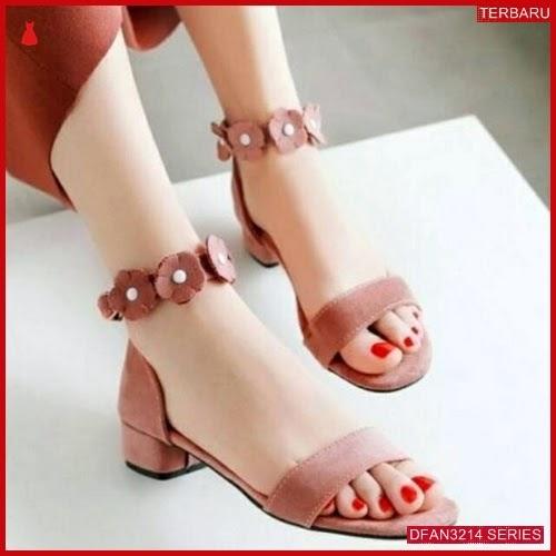 DFAN3214S26 Sepatu W02 Sepatu Hak Wanita Murah Terbaru BMGShop