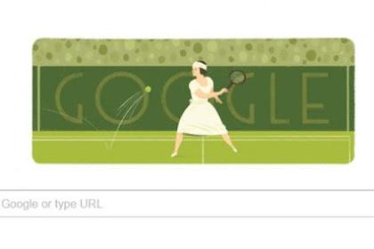 Fakta Dibalik Google Doodle Suzanne Lenglen Legenda Tenis Dunia