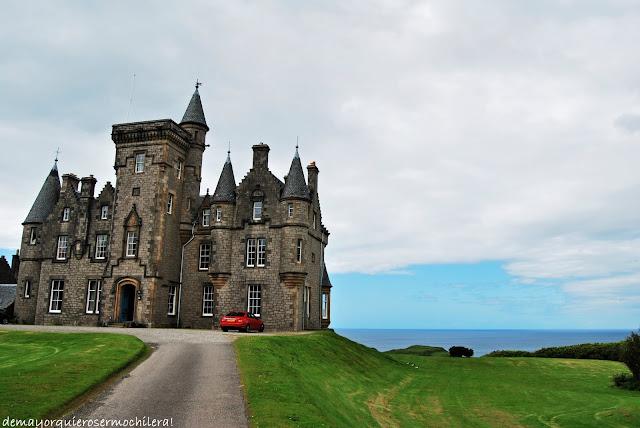 Glengorm Castle en isla de Mull, Escocia