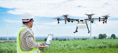 drone pertanian terbaik