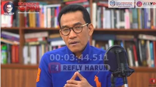 Refly: Wajar Diminta Mundur, Presiden Telah Gagal Lindungi Segenap Bangsa