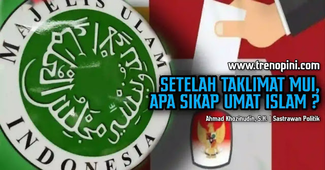 Majelis Ulama Indonesia (MUI) telah mengeluarkan Taklimat MUI bernomor Kep-1702/DP-MUI/IX/2020. Isi taklimat berupa arahan kepada pemerintah agar menunda Pilkada.