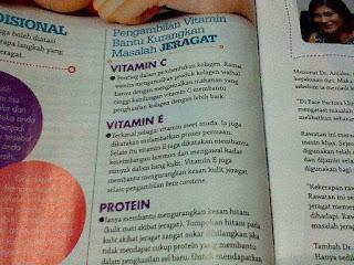 vitamin shaklee dan jeragat