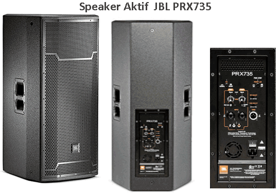 Harga Speaker Aktif JBL PRX735