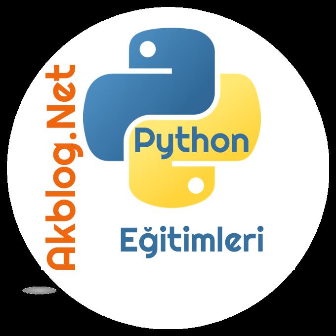 Python Programlamaya Giriş Eğitim Başlıkları