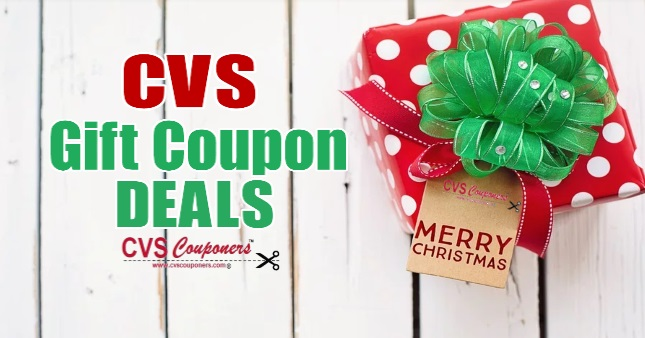 CVS Gift Coupon Deals 12/8-12/14