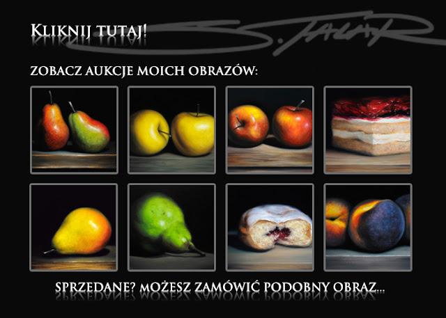 Licytacje obrazów na Allegro...