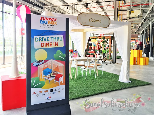 Sunway Big Box Johor Perkenalkan Konsep Drive Thru Dine In