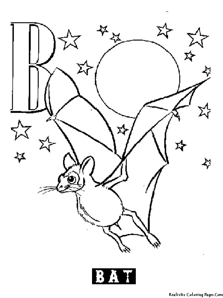 B Letters Alphabet Coloring Pages Realistic Coloring Pages