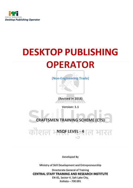 DTPO Trade Syllabus under NSQF Level - 4