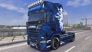 Royal Blue Scania Streamline