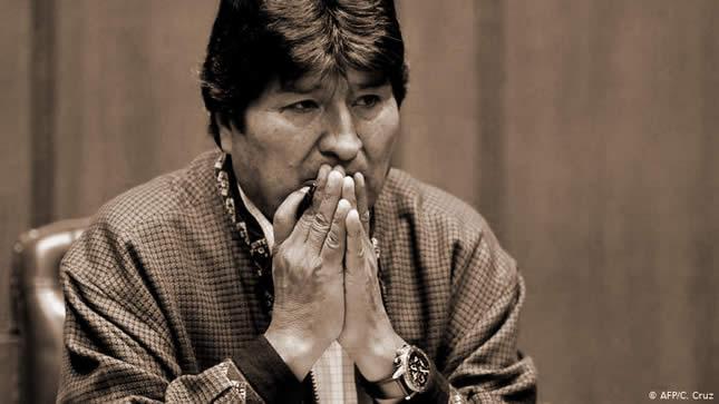 Evo Morales habría dado positivo a Covid-19